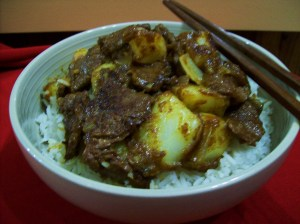 Chinese Curried Beef